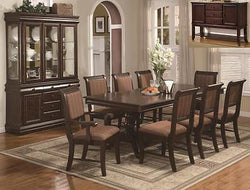Merlot 7 Piece Formal Dining Room Set