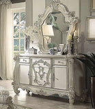 Versailles VINTAGE GRAY 4Pc Queen Bedroom Set By Acme 21150Q