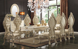 Luxury Formal Traditional  9PCS Dining Set  HD-13012