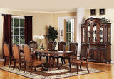 Remington Formal Traditional Cherry Dining Room 9 Pieces Set By Acme
