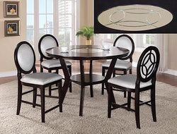 GIANNA COUNTER HEIGH DINING SET 5 PIECE