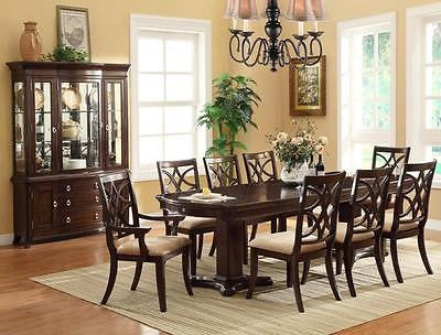 Dark Cherry KATHERINE DINING 9 PIECE SET