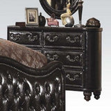 Opulent Varada Dark Cherry Queen Bedroom Set 5pc. w 2Nightstands + Free Shipping
