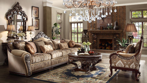 New Formal Classic European Style Luxury Sectional Set Hd 1632