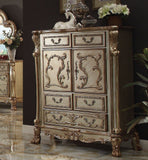 Dresden Gold Patina King Bedroom Set 6pc.+ Free Shipping