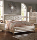 Regal Voeville Antique Gold Queen Bedroom Set 5pc w. Chest + Free Shipping