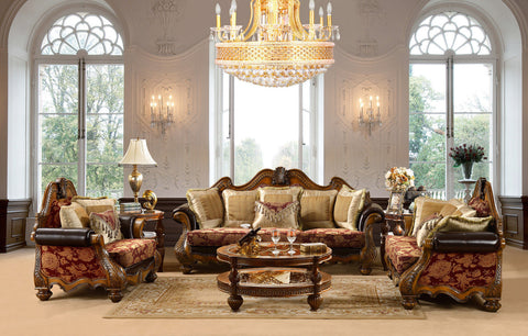 Luxury Formal 4 Piece Living Room Set HD-481