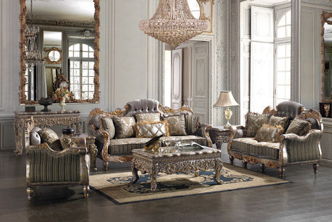 Formal Classic European Style Living Room Collection