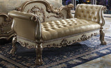 Dresden Gold Patina Queen Bedroom Set 6pc.+ Free Shipping