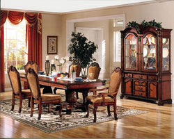 Chateau de Ville Formal Traditional Cherry Dining Room 7 Pieces Set By Acme