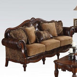 Dreena Traditional  Bonded L/ Chenille 4pc Livingroom Set By Acme