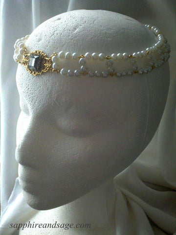 """Amalie"" Circlet Headpiece"