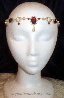 """Cassandra"" Circlet Headpiece"