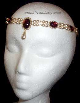"""Diana"" Circlet Headpiece"