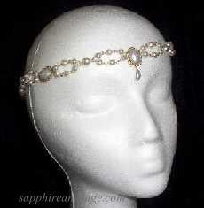 """Katerina"" Circlet Headpiece"