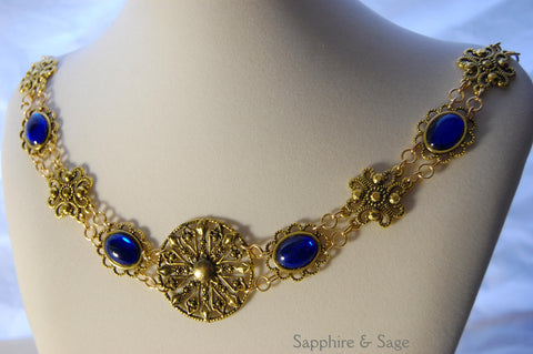"""Gabriel"" Jeweled Renaissance Collar of Office, 50-55 inches"