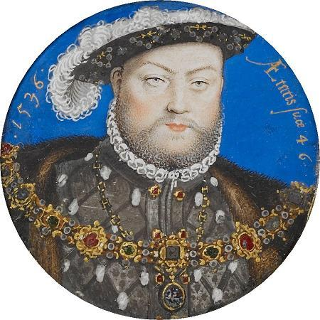 """King Henry VIII"" Hilliard Portrait Replication Collar, 55-60 inches"