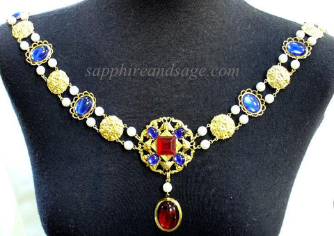 """Owain"" Jeweled Renaissance Collar of Office"