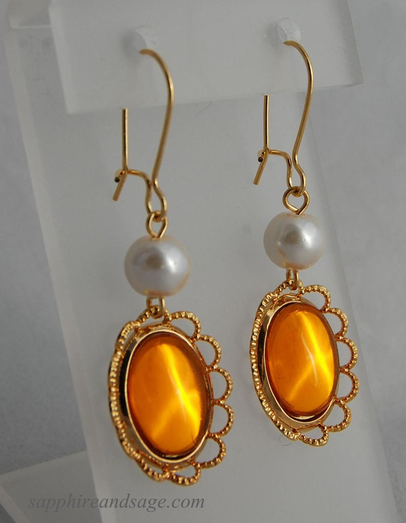 """Catherine"" Earrings"