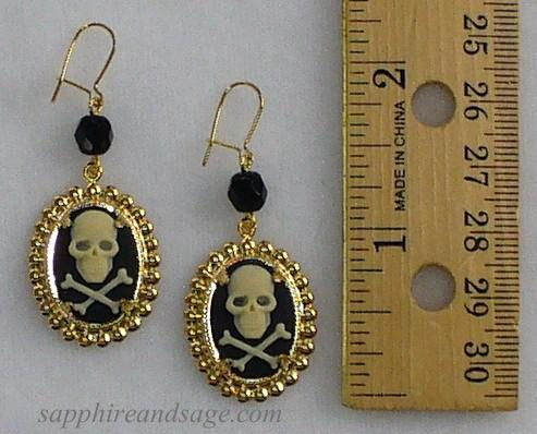 """Emma"" Pirate Earrings"