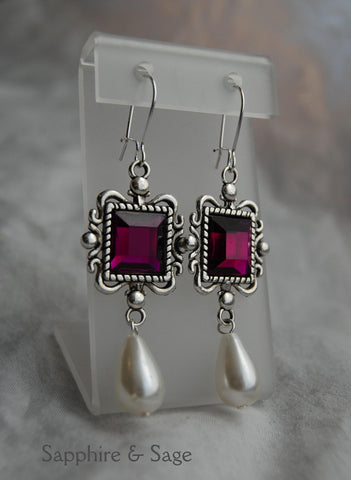 """Erynne"" Renaissance Earrings"