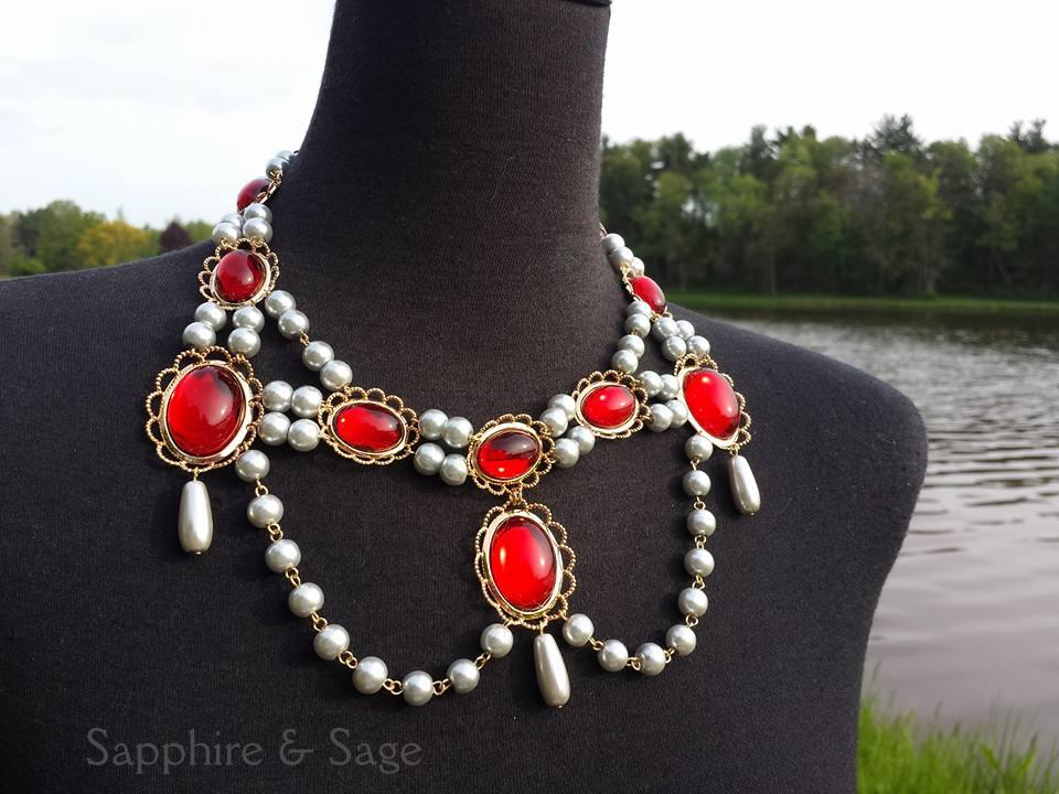 """Brighid"" Festoon Necklace"