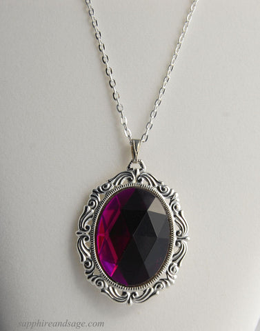 """Elspeth"" Medieval Renaissance Pendant Necklace"