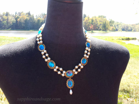 """Francesca"" Renaissance Necklace"