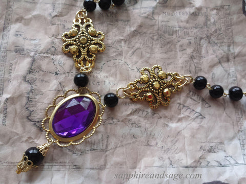 """Morgan"" Renaissance Necklace"