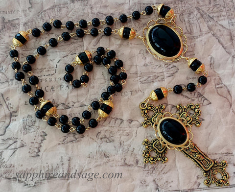 """Mary"" Traditional Heirloom-quality Rosary"