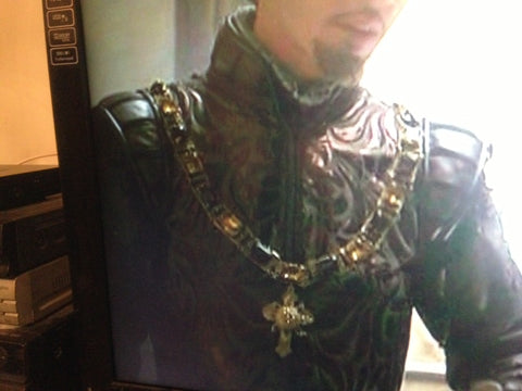 """The Tudors"" Showtime TV Series Thomas Boleyn Chain Livery Collar of Office, State"