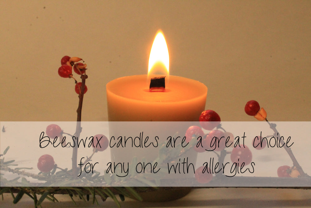beeswax candle burning and care tips