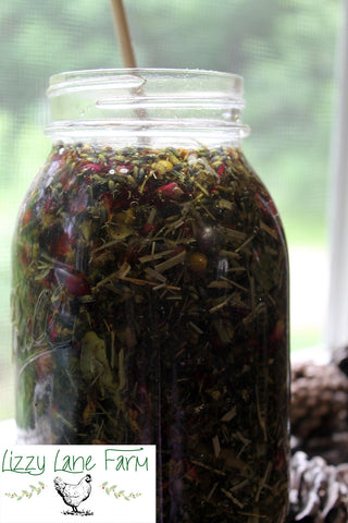 infusing herbs