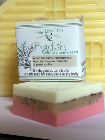 new palm free butter soap from lizzy lane far.