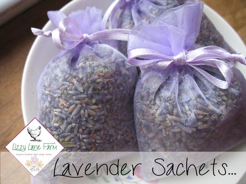 our lavender sachets