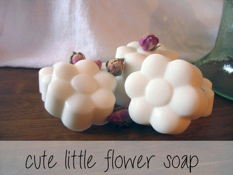 cute flower soap
