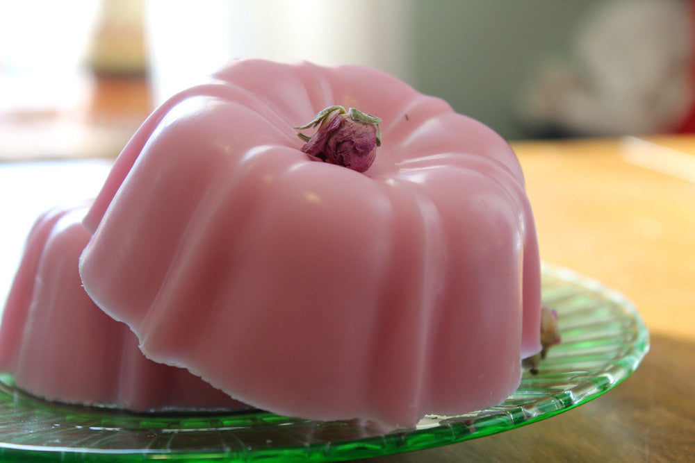 Soap Cake-Rose Scented Mini Tea Cake