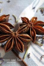 Load image into Gallery viewer, Anise Star Pods- Whole Inscense, Potpourri  (Illicium verum)- Organic Whole Anise - Lizzy Lane Farm Apothecary