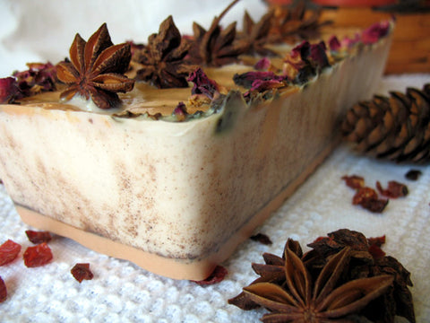 winter fall soap cake
