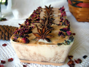 Soap Cake-Mulling Spice Cake - Lizzy Lane Farm Apothecary