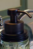 bronze foaming soap pump