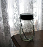 pint sized ball mason jar hanging solar light