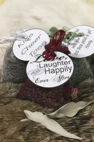 Customized Lavender Filled Sachets
