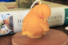 Load image into Gallery viewer, Beeswax Bird Candle-sparrow candle - Lizzy Lane Farm Apothecary