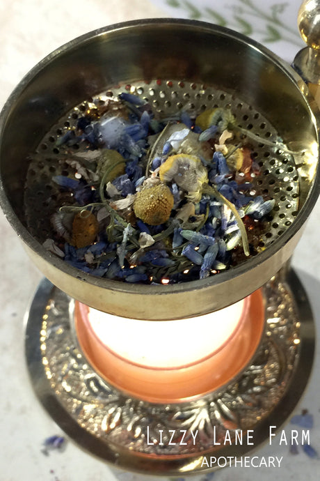 Drifting Away Loose Herbal Incense | Relax, Sleep, Unwind, calm your senses