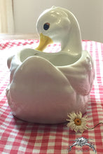 Load image into Gallery viewer, Vintage Napco Ware Duck Planter - Lizzy Lane Farm Apothecary
