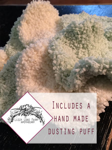 Organic Dusting Body Powder Gift Set :  PICK • YOUR • SCENT :: Men's Scents - Lizzy Lane Farm Apothecary