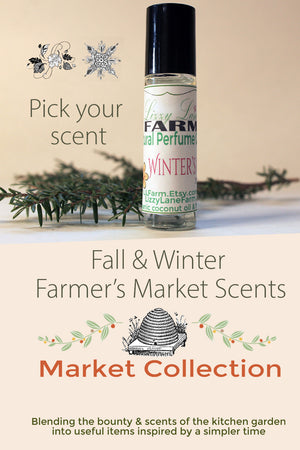 farmers market fall and winter personal perfume collection