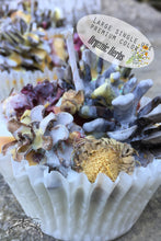 Load image into Gallery viewer, Herbal Fire Starter-large single use, pinecone fire starter - Lizzy Lane Farm Apothecary