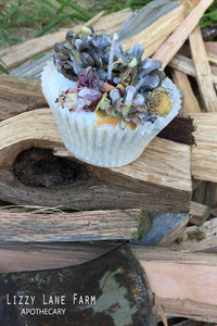 Herbal Fire Starter-large single use, pinecone fire starter - Lizzy Lane Farm Apothecary